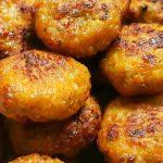 chiftele pui cartof dulce