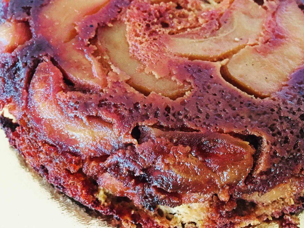 tarta cu mere caramelizate
