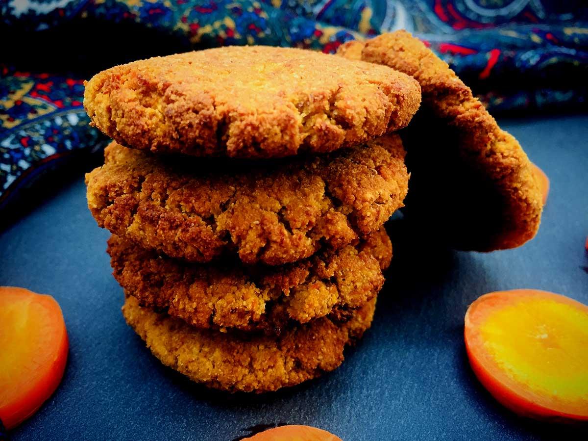 Biscuiți cu morcov sau carrot cake cookies AIP