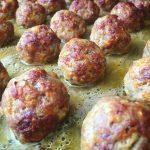 Chifteluțe cu sos de dovleac