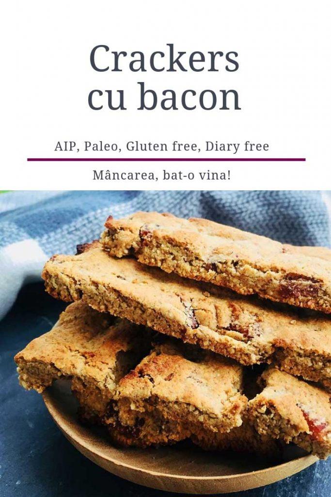 crackers cu bacon