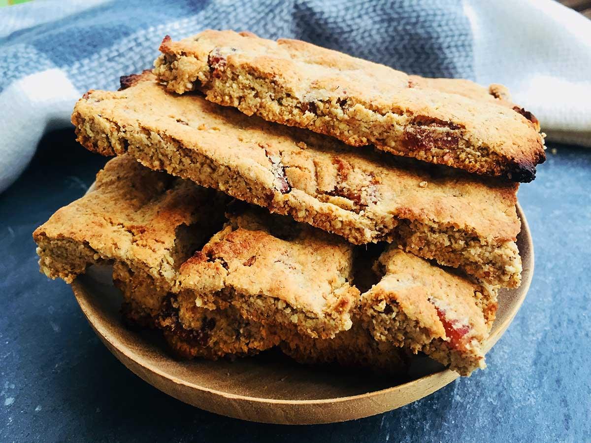 Crackers cu bacon – din seria pâine AIP