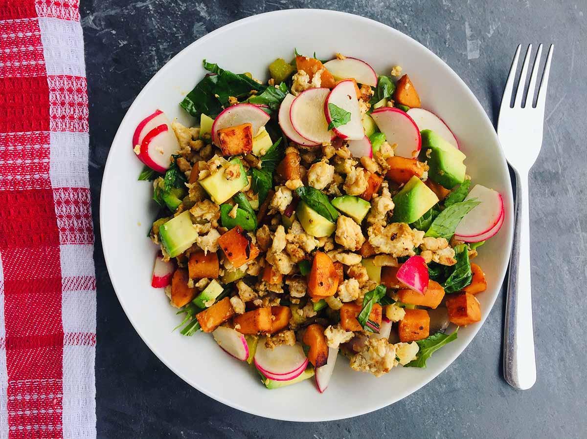 Mic dejun AIP cu pui și legume
