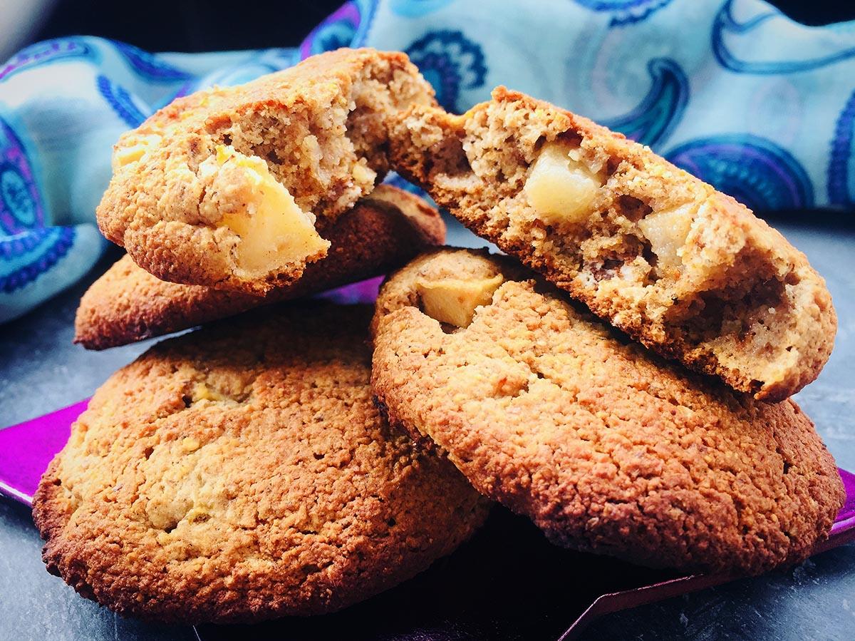 Cookies cu mere și scorțișoară AIP