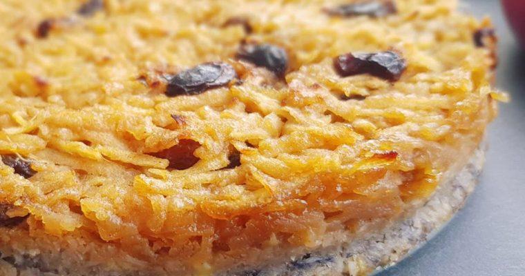 Prăjitură cu mere, cocos și banane (AIP)